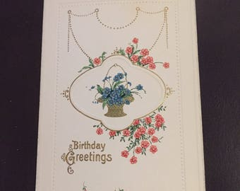 Birthday postcard