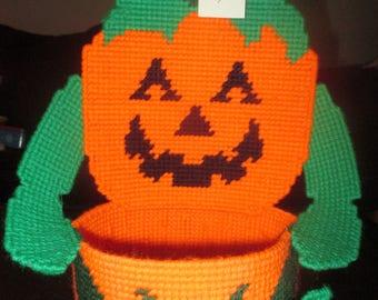 Pumpkin Candy Holder