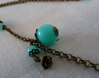 "Necklace ""So Blue"""
