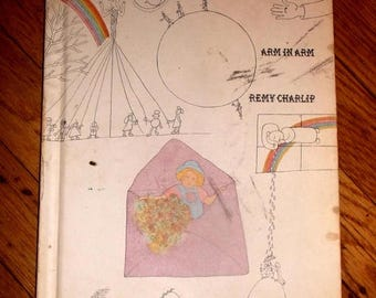 ON SALE Arm in Arm by Remy Charlip First edition 1969 Collection of connections,endless tales etc.