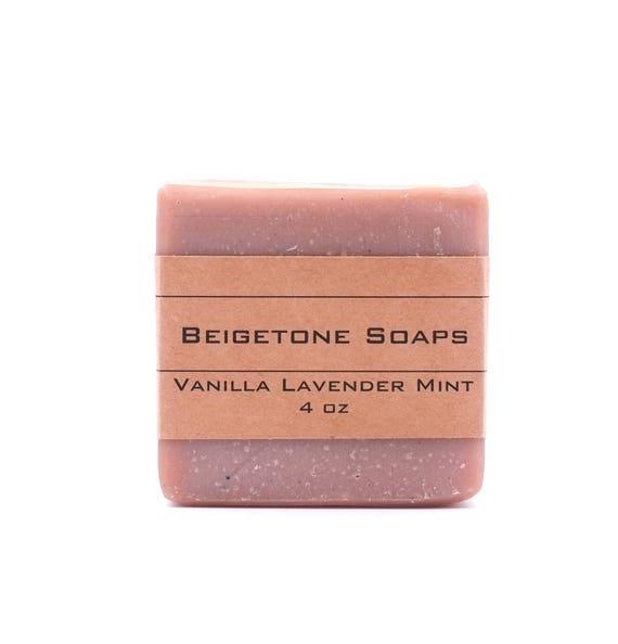 Vanilla Lavender Mint | 4oz | Sweet Warm Vanilla, Lavender, Peppermint Blend | Great Holiday Treat!