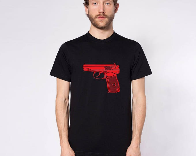 KillerBeeMoto: Limited Release Soviet Makarov Pistol Short or Long Sleeve Shirt