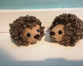 Little Crocheted Soft Toy Hedgehog