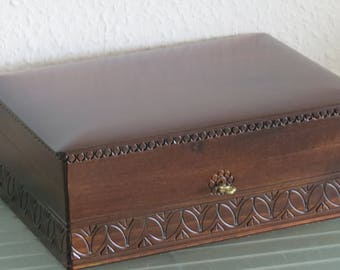 sewing box jewelry box wooden box