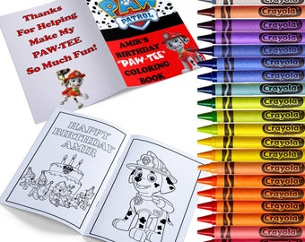 Marshall The Fire Dog Personalized Coloring Books