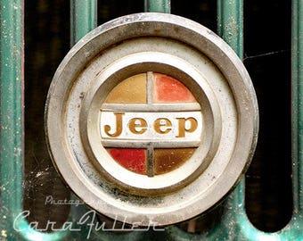 Jeep Emblem Photograph