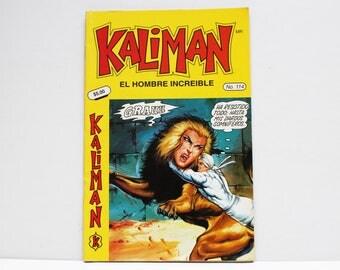 Kaliman El Hombre Increible No 114 El Faraon Sagrado Revista en Español Comic Book in Spanish RARE