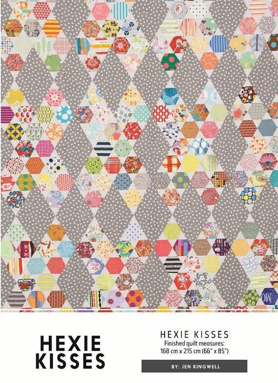 Hexie Kisses - Pattern by Jen Kingwell