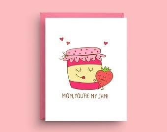 funny day card mom birthday card card for mom day card