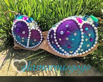 32A mermaid bra (ready to ship)