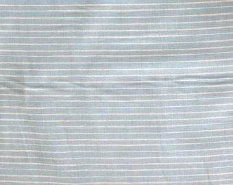 Fabric - Peter rabbit - blue stripe - cotton print.