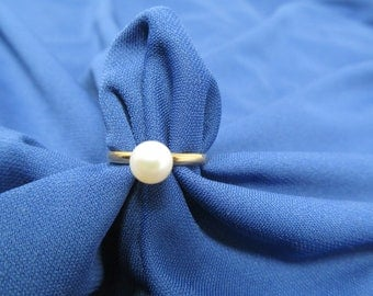 Cultured Pearl Ring - 14 KT GF