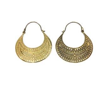 Aztec style earrings