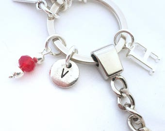 Add a Letter Charm,  Extra Add Ons, Personalised Jewellery, Tibetan Silver Disc