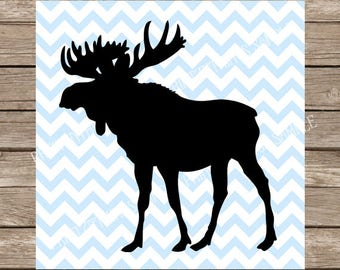 Moose svg, svg files, Moose, svg, svg files for cricut, Moose silhouette, animal svg, Canada svg, Moose cut file, svg silhouette svg designs