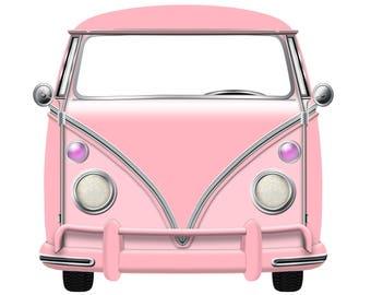 VW Style, Camper Bus, Kombi, Car, Instant Download, DIY, Digital Download, Volkswagen Style, Retro, VW style Bus, Volkswagen Style Bus, Bus