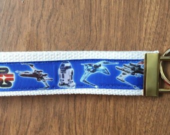 Star Wars Key Chain Wristlet Zipper Pull