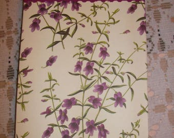 Handmade large Notepad and refillable