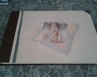 Large hand-bound photo album