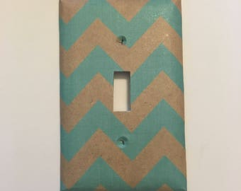 Single oversize light switch cover