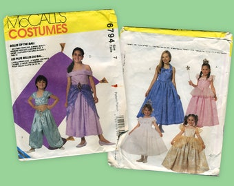 McCall's Costumes 6794 Vintage Pattern Size 7