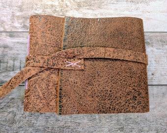 Genuine Handmade Leather Travel Journal