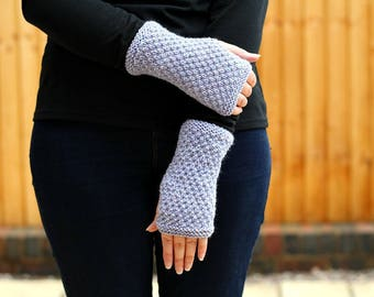 FINGERLESS MITTENS, Knit Mitt Pattern, Knitting Pattern, Fingerless Glove Pattern, Mittens, Gloves, Knit Glove Pattern, Womens Mitt Pattern