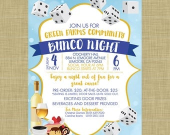 Carnival flyer invitation postcard poster template church bunco flyer invitation template church school community fundraiser score sheet tickets table numbers dice invitation girls stopboris Image collections