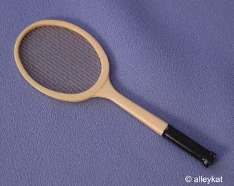 Vintage Barbie and Ken Tennis Racket, Near Mint