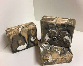 Cinnamon Amber Soap / Artisan Soap / Handmade Soap / Soap / Cold Process Soap