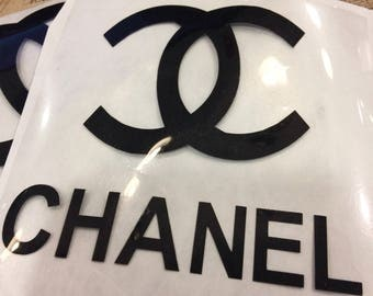 CHANEL Iron On Decal, Michael Kors Decal, Iron On Decal, Iron On Vinyl, 72 Iron On Vinyl Colors