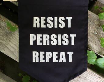 Resist Persist Repeat banner