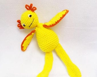 SALE, Crochet Monster - Alien Monster - Sea Monster - Amigurumi Monster - Sea Monkey Doll -   Monster Plush -  Fantasy Creature