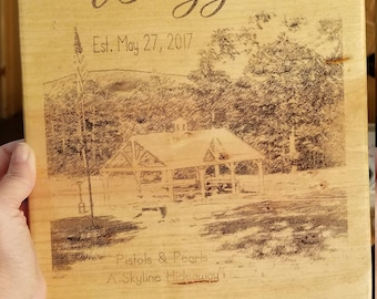 Rustic, Wood Sign for Wedding, Birthday, Baby, Graduation, Anniversary or Holiday Gift