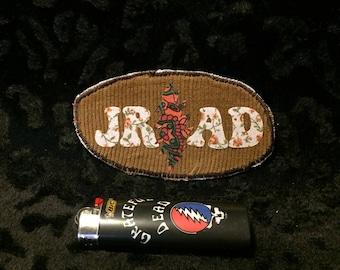 JRAD HAT PATCH ~ Grateful Dead ~ Hand made patch ~ applique patch