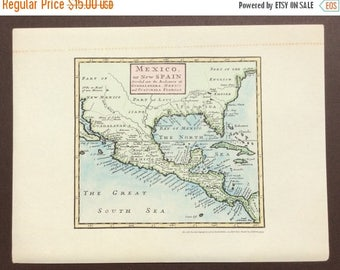 30 Off Mexico Map 1722