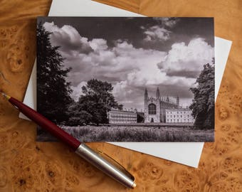 Kings College Cambridge Chapel greetings card