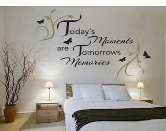 Memories Wall Decal Etsy - Locations where sell wall decals