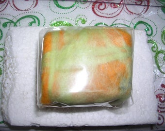 Felted soaps - WINNIPEG - Orange-yellow gold