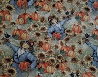 Sunflower Fields Cotton Fabric by the yard