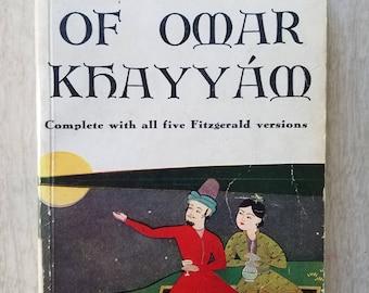 """Vintage Pocket Avon Book """"Rubaiyat of Omar Khayyam""""  Illustrated by E.J. Sullivan"""