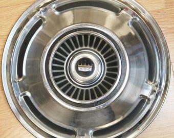 """Pair 1970 Ford LTD Custom Galaxie Hubcaps Wheel Rim Cover 15"""""""