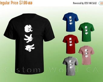 ON SALE TODAY Children Cartoon Hands Rock Paper Scissor Youth T shirt - Rock Paper Scissor Children Shirt