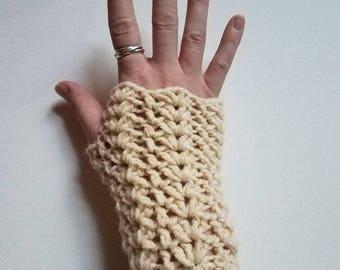 Finger-less gloves/ Hand warmers
