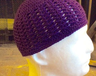 Crochet Kufi, Khufi, crochet Beanie Men & Boys Kufi, Knitted Kufi, Knitted Beanie, Islamic Hat