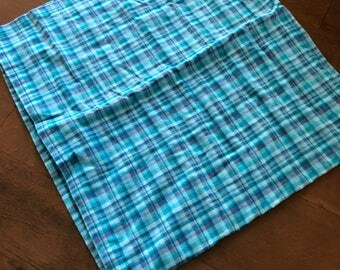 Plaid Baby Swaddle Blanket *READY TO SHIP*