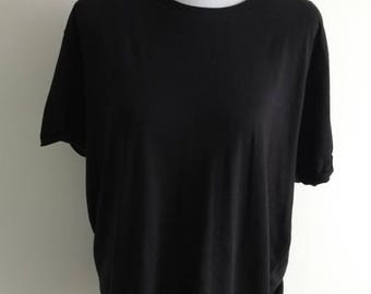 Black oversized Tee shirt