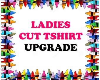 Ladies Cut Gildan Tshirt