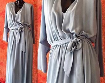 Sale Jack Bryan Dress Party Dress Disco Dress Maxi Dress Vintage 70s Grecian Style Dress