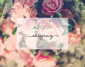 Add on Shipping - Wedding Invitations - Birthday Invitations - Save the Date - International Shipping - Shipping Fee